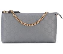 - 'GG' monogram clutch - women - Leder/Nylon