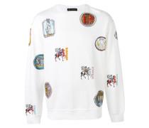 - Sweatshirt mit Patch-Print - men - Baumwolle - L