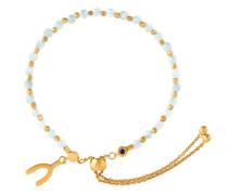 'Amazonite Wishbone Kula' Armband mit Amazoniten