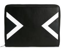 Laptophülle mit geometrischem Muster