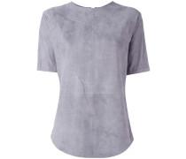 T-Shirt aus Lammleder