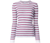 slim-fit stripe jumper - Unavailable