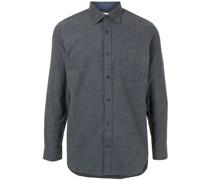 Flanellhemd mit aufgesetzter Tasche