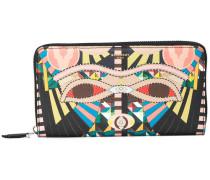 Crazy Cleopatra zipped wallet