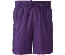 Lounge-Shorts mit Fischgrätenmuster