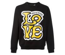 "Sweatshirt mit ""Love""-Print"