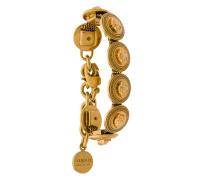 Medusa coin bracelet