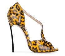 Sandalen mit Leoparden-Print, 130mm