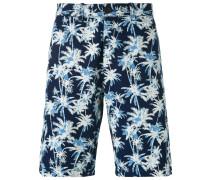 Shorts mit Palmen-Print - men - Baumwolle - 29