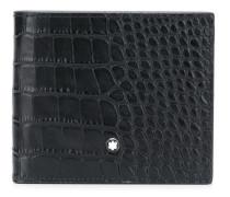 Portemonnaie mit Alligatorleder-Optik