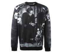 Sweatshirt mit Brando-Print
