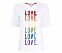 """""""T-Shirt mit """"""""Love""""""""-Print"""""""