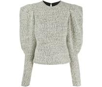Pullover mit strukturierten Ärmeln