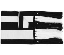Schal mit Monogrammmuster