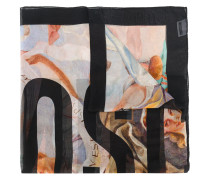 masterpiece print scarf