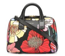 Handtasche mit Blumen-Print