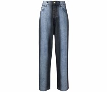 Jeans mit Spray-Print