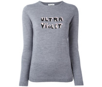 'Ultra Violet' Wollpullover - women - Wolle - XS