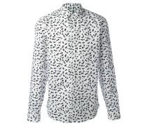 'Post It' Hemd mit schmaler Passform