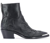 Knöchelhohe Cowboy-Stiefel