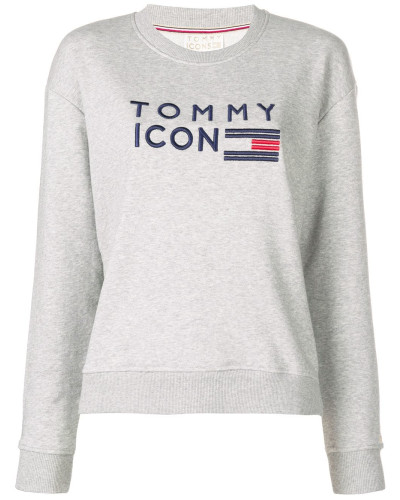 Besticktes 'Icons' Sweatshirt
