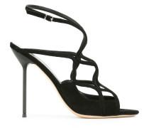 Sandalen mit Riemen - women - Leder/Wildleder