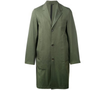 single breasted coat - men