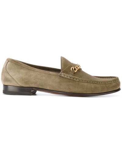 Tom Ford Herren Loafer mit Zierkette