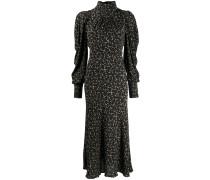 Kleid mit Stehkragen
