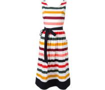 Gestreiftes Kleid - women - Baumwolle/Elastan