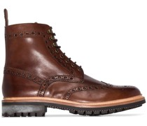 'Fred' Stiefel mit Budapestermuster