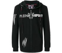 tiger print hoodie