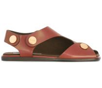 Sandalen mit flacher Sohle