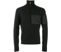 chest pocket jumper