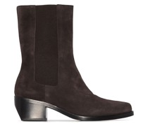 Model 27 suede Chelsea boots