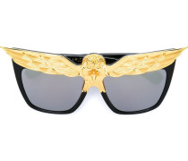 'Eagle' Sonnenbrille - women - Acetat/Metall