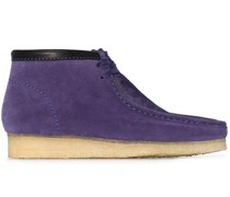 Wallabee suede boots
