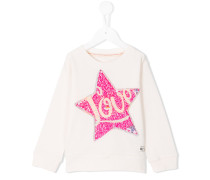 Sweatshirt mit Pailletten-Applikation - kids