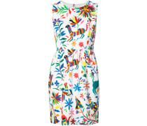 Ärmelloses Kleid mit Blumen-Print - women