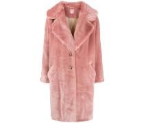 'Eamon' Mantel aus Faux Fur