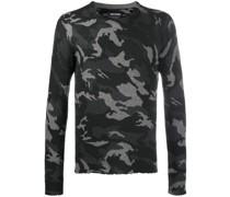 'Kennedy' Pullover mit Camouflage-Print