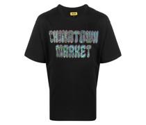 T-Shirt mit Hippie-Logo