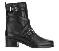 - 'Ville Straps' Stiefel - women - Leder/rubber