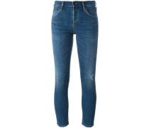Halbhohe 'Elsa' Skinny-Jeans