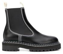 Chelsea-Boots mit Kontrastnaht