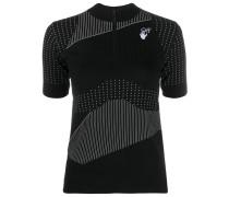 T-Shirt mit Streifendetail