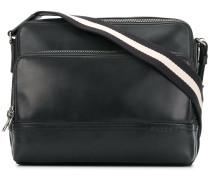 front zip messenger bag