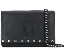 - embossed shoulder bag - women