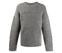 Texturierter 'Albi' Pullover