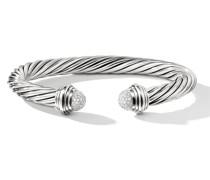 Cable Armspange mit Diamanten